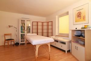 Akupunktur Behandlungszimmer